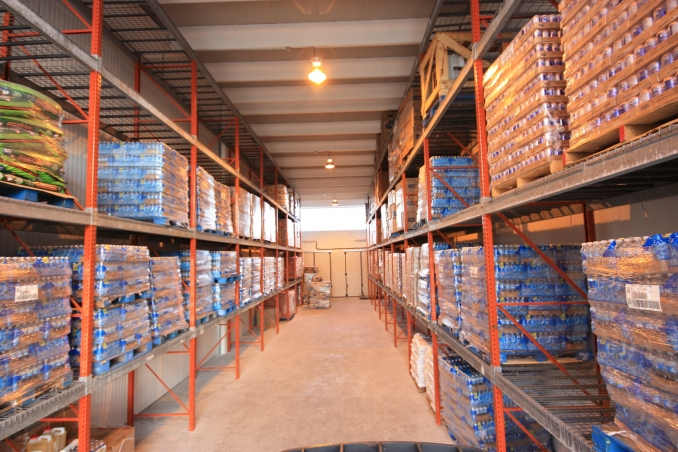 Front-to-rear layout to fully maximize storage capacity of the entire space - Bahamas Logistic Centre LTD.